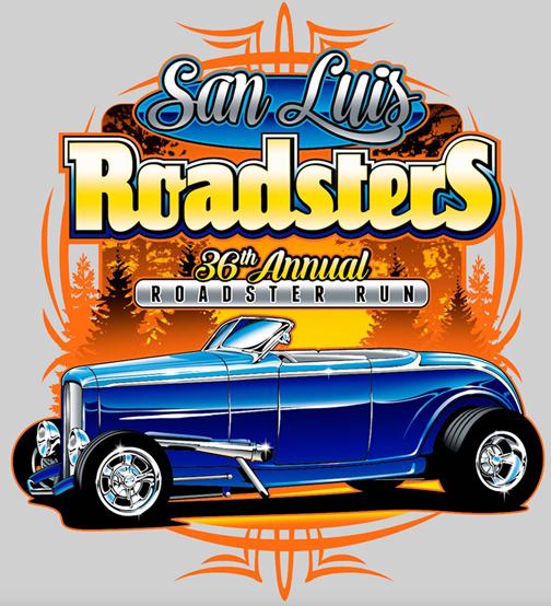 89e67cd5ab San Luis Roadsters Rod Run T-Shirt