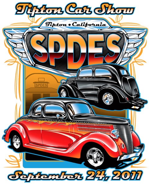 Car Show T-Shirts with a Limited Palette – HOT ROD KRISTINA