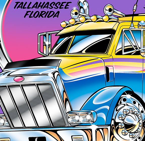 Recently I Was Contacted By Parkway Wrecker In Tee Florida To See If They Could Purchase My Tow Artwork For Use On Their Business Cards