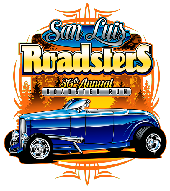 SLO Roadsters Rod Run T-Shirt